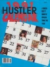Hustler Calendar 1991 magazine back issue