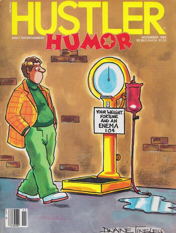 Hustler magazine canada #13