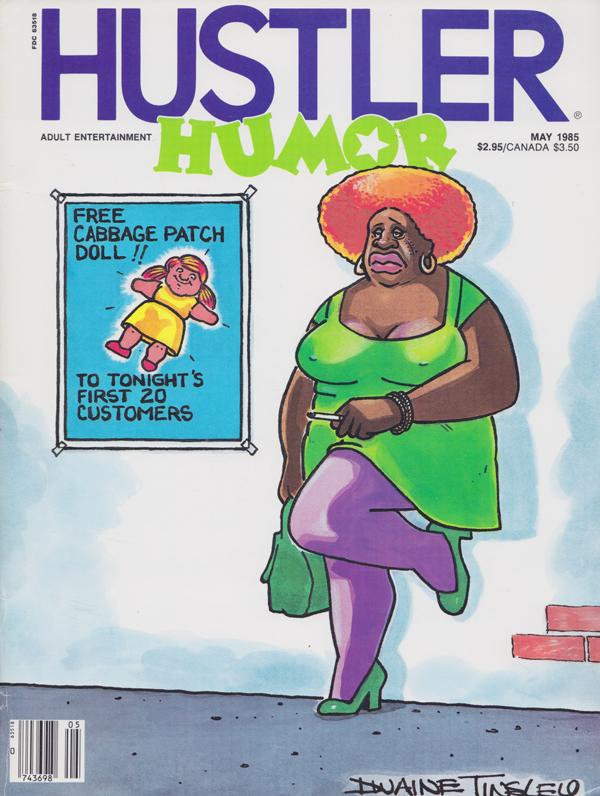 Hustler magazine canada #11