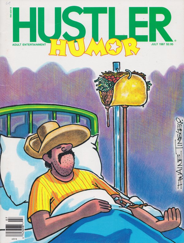 Hustler magazine canada nude