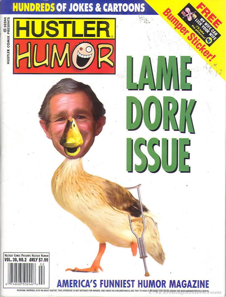 Hustler cover august 2008