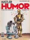 Hustler Humor September 1980 magazine back issue