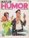Hustler Humor September 1981 magazine back issue