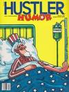 Hustler Humor March 1985 magazine back issue