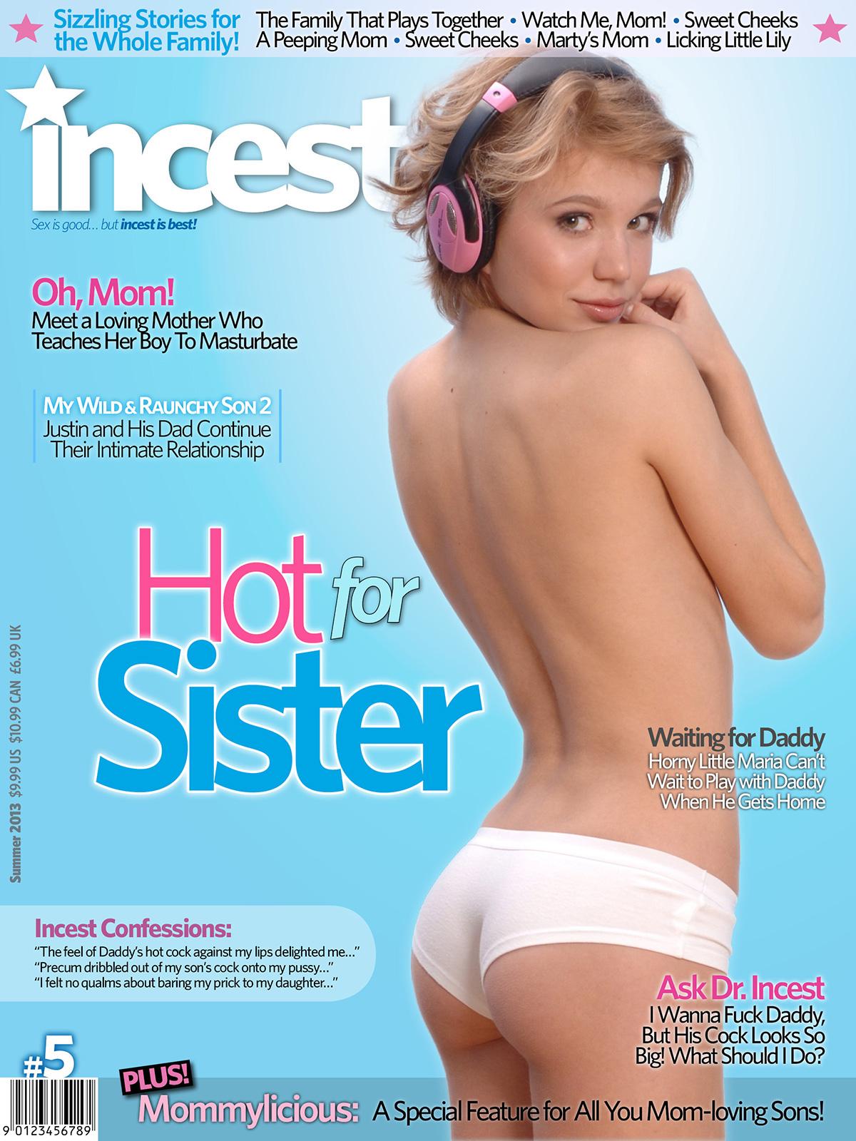 Incest # 5, Summer 2013 magazine back issue Incest magizine back copy
