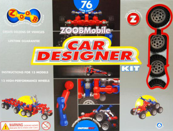 zoob car designer kit invent hundreds of cars 76 zoob pieces by infinitoy zoob-car-designer