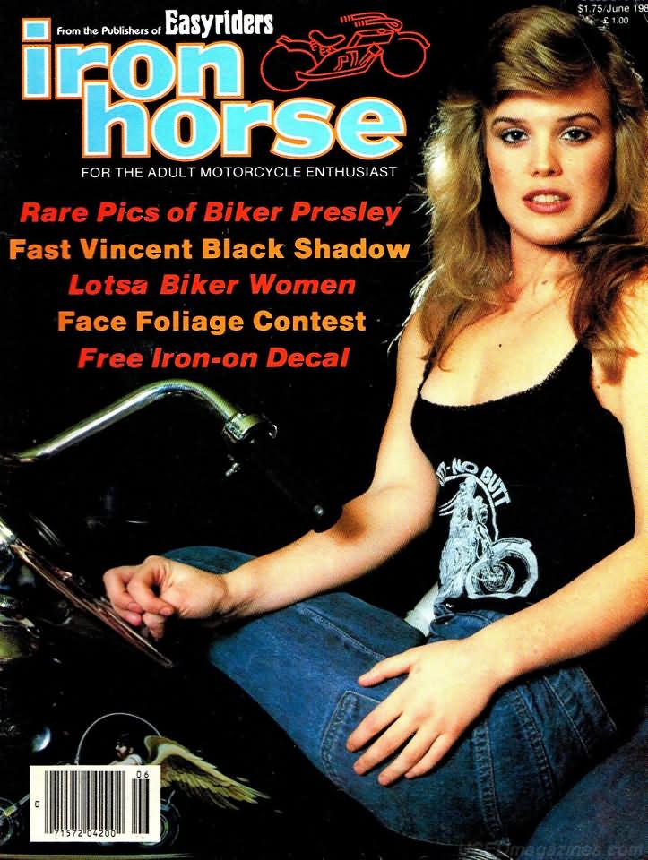 Ironhorse # 15 magazine back issue Ironhorse magizine back copy
