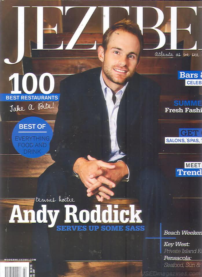 Jezebel July 2012 magazine back issue Jezebel magizine back copy
