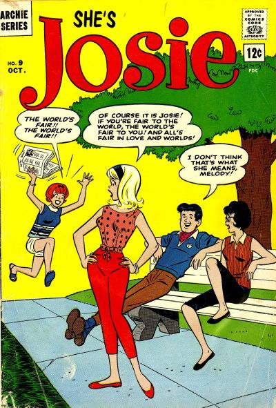 Josie comic book back issue comicbook back copy