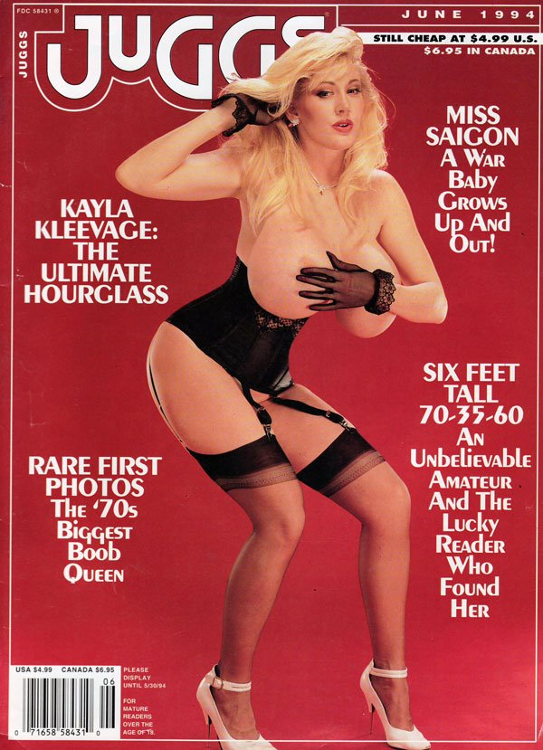 Juggs June 1994 magazine back issue Juggs magizine back copy juggs magazine back issue, 1994, huge hooters, big tit sex mag, dirty nasty girls with big tits, xxx