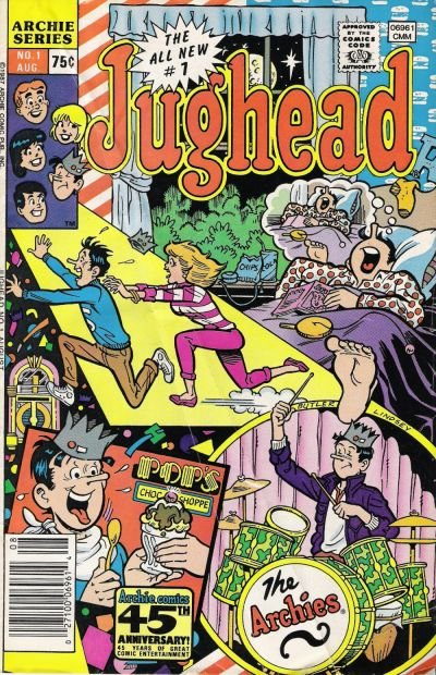 Archie's Pal Jughead Comics Comic Book Back Issues by A1 Comix