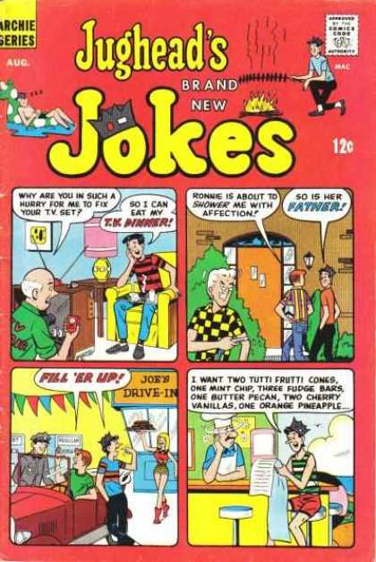 Jughead's Jokes Comic Book Back Issues by A1 Comix