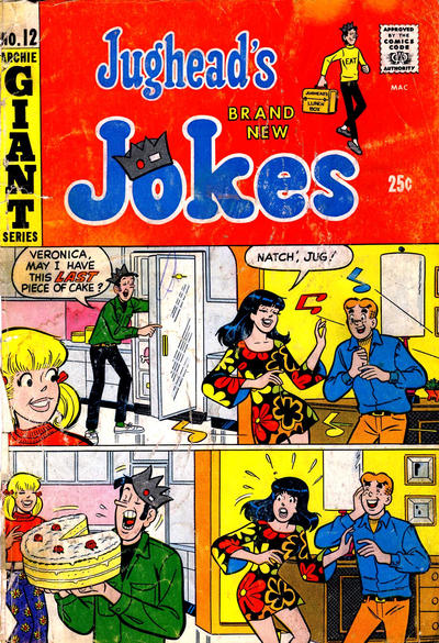 Jughead's Jokes A1 Comix Comic Book Database