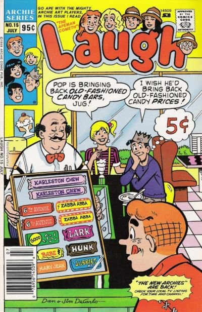 Laugh A1 Comix Comic Book Database