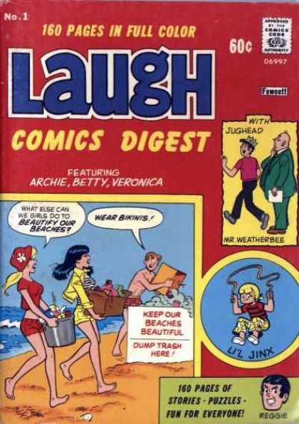 Laugh Digest Comic Book Back Issues by A1 Comix