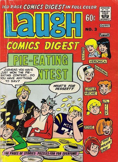 Laugh Digest A1 Comix Comic Book Database