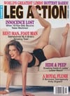 Stephanie Rage Leg Action February 1996 magazine pictorial