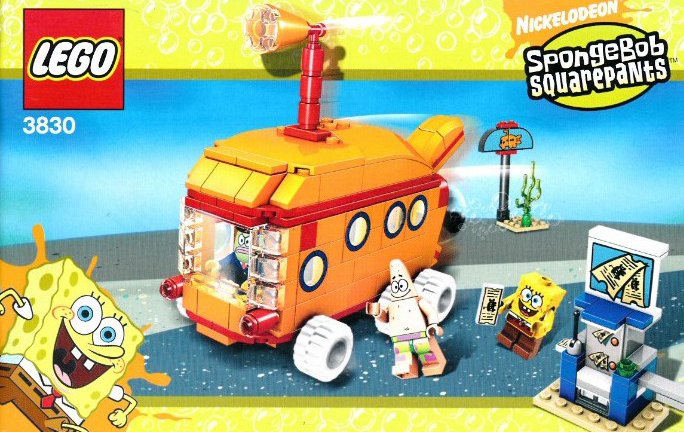 lego spongebob squarepants bikini bottom express 210 pieces of lego blocks lego-creator-bikini-bottom-express