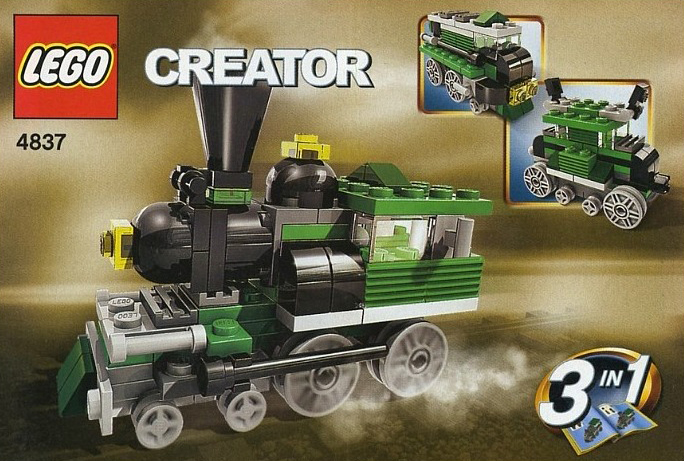 lego creator mini trains 73 pieces of lego blocks lego-creator-mini-trains