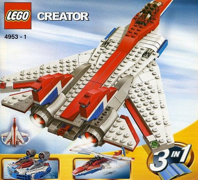 lego creatorfast flyers jets 312 pieces of lego blocks lego-creator-fast-flyers