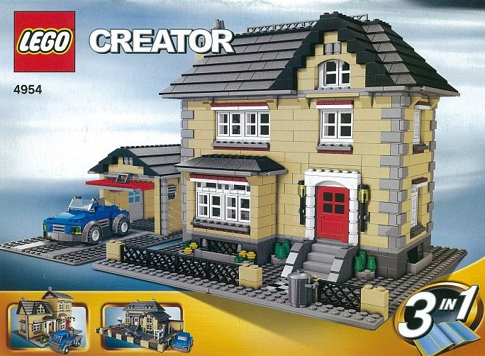lego creator model townhouse 1174 pieces of lego blocks lego-creator-model-townhouse