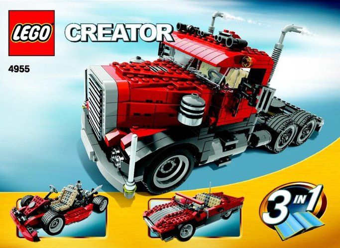 lego creator big rig 550 pieces of lego blocks lego-creator-big-rig