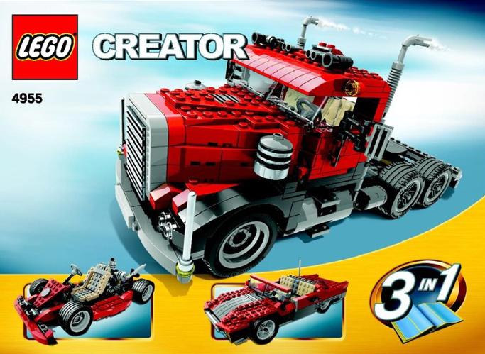 lego creator big rig 550 pieces of lego blocks lego-creator-big-rig