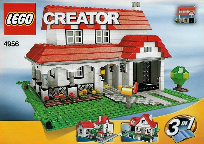 lego creator house 731 pieces of lego blocks lego-creator-house