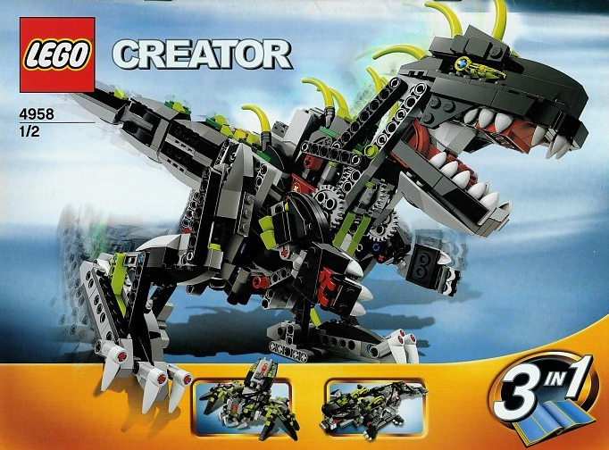 lego creator monster dino dinosaur 792 pieces of lego blocks lego-creator-monster-dino