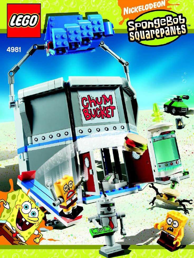 lego spongebob squarepants chum bucket 337 pieces of lego blocks lego-chum-bucket-spongebob