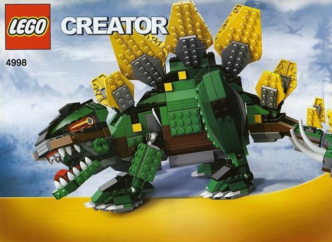 lego creator stegosaurus dinosaurs 731 pieces of lego blocks lego-creator-stegosaurus