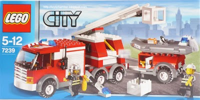 lego city fire truck 214 pieces of lego blocks lego-city-fire-truck