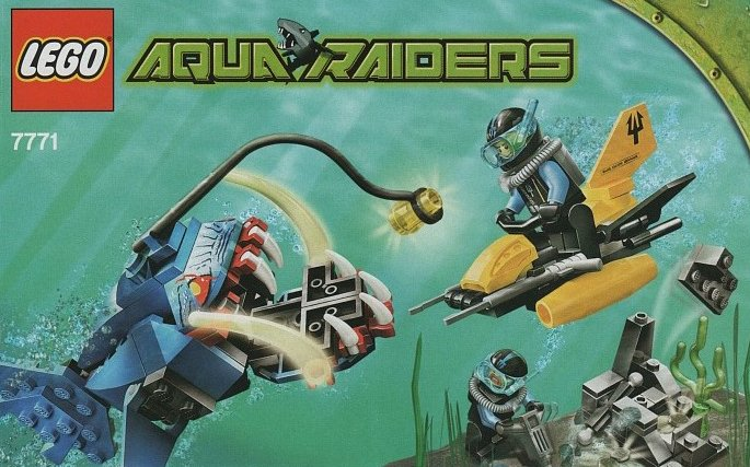 lego aqua raiders angler ambush 130 pieces of lego blocks lego-aquaraiders-angler-ambush