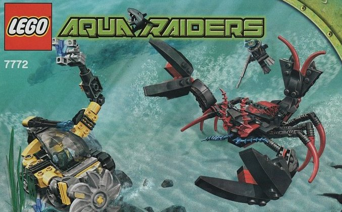 lego aqua raiders lobster strike 223 pieces of lego blocks lego-aqua-raiders-lobster-strike