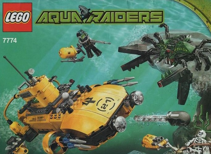 lego aqua raiders crab crusher 590 pieces of lego blocks lego-aquaraiders-crab-crusher