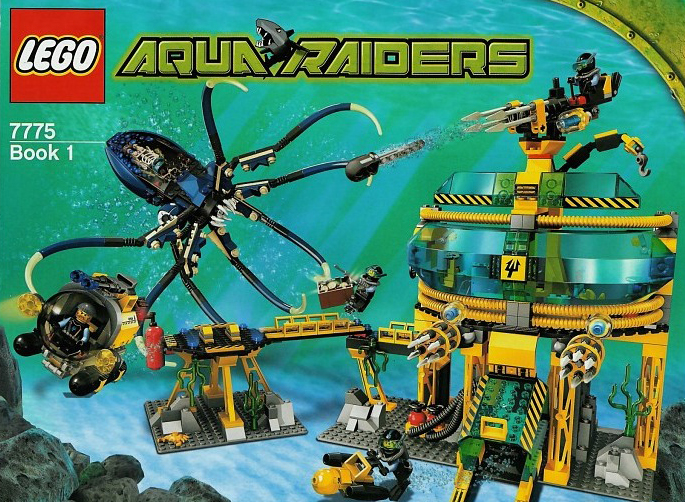 lego aqua raiders aquabase invasion 840 pieces of lego blocks lego-aquaraiders-aquabase-invasion