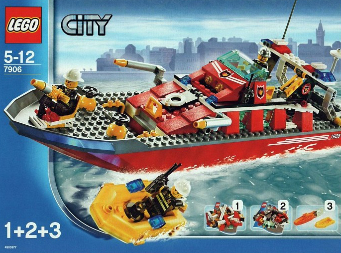 lego city fire boat 187 pieces of lego blocks lego-city-fire-boat