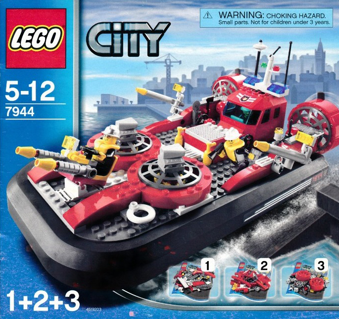 lego city fire hovercraft 274 pieces of lego blocks lego-city-fire-hovercraft