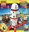 lego spongebob squarepants rocket ride 279 pieces of lego blocks