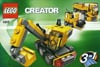 lego creator mini construction vehicles 68 pieces of lego blocks