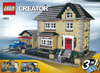 lego creator model townhouse 1174 pieces of lego blocks