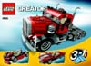 lego creator big rig 550 pieces of lego blocks