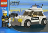 lego city police car 59 pieces of lego blocks
