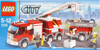 lego city fire truck 214 pieces of lego blocks