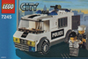 lego city police prisoner transport 98 pieces of lego blocks