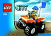 lego city police quad bike 33 pieces of lego blocks