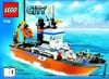 lego city police coast guard patrol boat and tower 444 pieces of lego blocks Puzzle