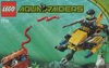 lego aqua raiders Deep Sea Treasure Hunter Set 75 pieces of lego blocks