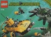 lego aqua raiders crab crusher 590 pieces of lego blocks