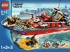lego city fire boat 187 pieces of lego blocks Puzzle